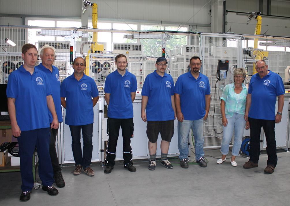 Maschinenbau Haenel Team