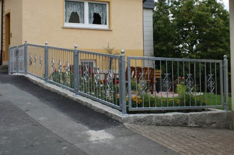 Metallbau Gartenzaun