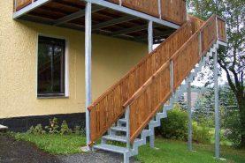 Metallbau Treppe