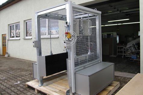 Sondermaschinenbau Kabine